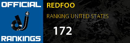 REDFOO RANKING UNITED STATES