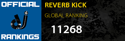 REVERB KICK GLOBAL RANKING