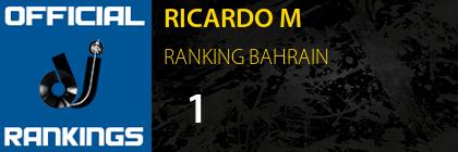 RICARDO M RANKING BAHRAIN