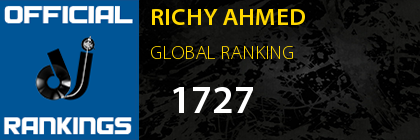 RICHY AHMED GLOBAL RANKING