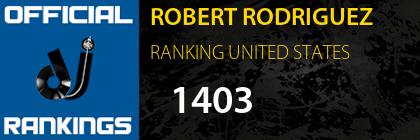ROBERT RODRIGUEZ RANKING UNITED STATES