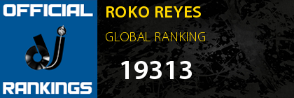 ROKO REYES GLOBAL RANKING