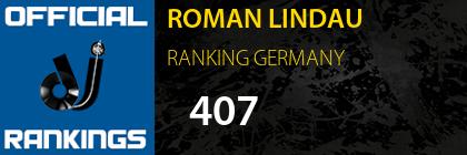 ROMAN LINDAU RANKING GERMANY
