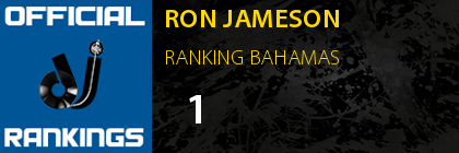 RON JAMESON RANKING BAHAMAS