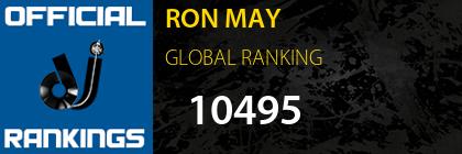RON MAY GLOBAL RANKING