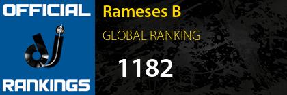Rameses B GLOBAL RANKING