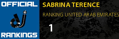 SABRINA TERENCE RANKING UNITED ARAB EMIRATES