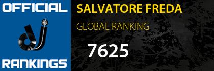 SALVATORE FREDA GLOBAL RANKING