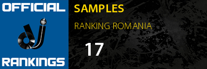 SAMPLES RANKING ROMANIA