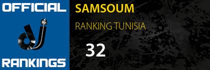 SAMSOUM RANKING TUNISIA
