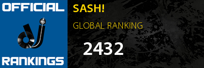 SASH! GLOBAL RANKING
