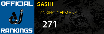 SASH! RANKING GERMANY