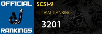 SCSI-9 GLOBAL RANKING