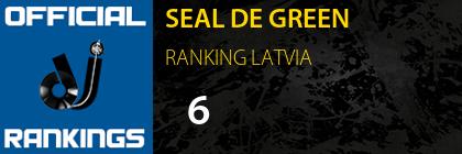 SEAL DE GREEN RANKING LATVIA