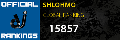 SHLOHMO GLOBAL RANKING