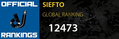 SIEFTO GLOBAL RANKING
