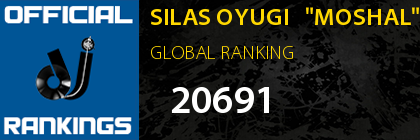 "SILAS OYUGI   ""MOSHAL"" GLOBAL RANKING"