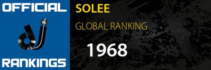 SOLEE GLOBAL RANKING