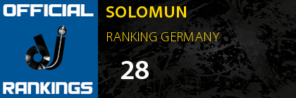 SOLOMUN RANKING GERMANY