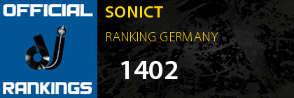 SONICT RANKING GERMANY