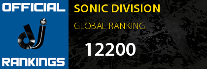 SONIC DIVISION GLOBAL RANKING