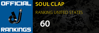 SOUL CLAP RANKING UNITED STATES