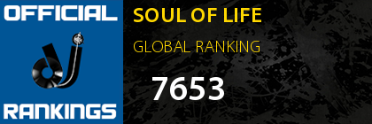 SOUL OF LIFE GLOBAL RANKING