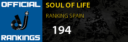 SOUL OF LIFE RANKING SPAIN