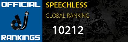 SPEECHLESS GLOBAL RANKING