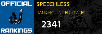 SPEECHLESS RANKING UNITED STATES