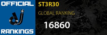 ST3R30 GLOBAL RANKING