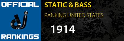 STATIC & BASS RANKING UNITED STATES