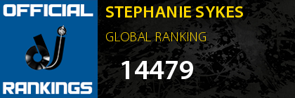 STEPHANIE SYKES GLOBAL RANKING