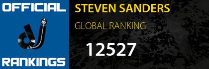 STEVEN SANDERS GLOBAL RANKING