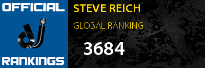 STEVE REICH GLOBAL RANKING