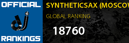 SYNTHETICSAX (MOSCOW) GLOBAL RANKING