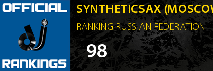 SYNTHETICSAX (MOSCOW) RANKING RUSSIAN FEDERATION