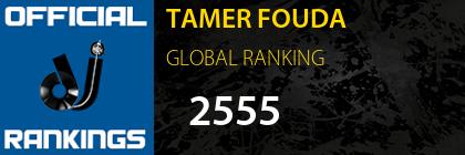 TAMER FOUDA GLOBAL RANKING