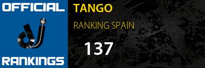 TANGO RANKING SPAIN