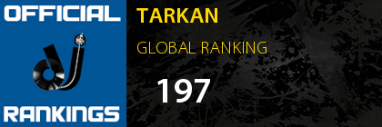 TARKAN GLOBAL RANKING