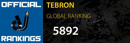 TEBRON GLOBAL RANKING