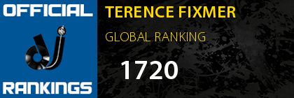 TERENCE FIXMER GLOBAL RANKING