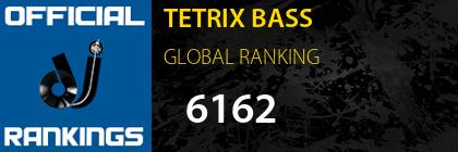 TETRIX BASS GLOBAL RANKING