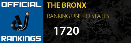 THE BRONX RANKING UNITED STATES