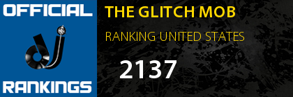 THE GLITCH MOB RANKING UNITED STATES