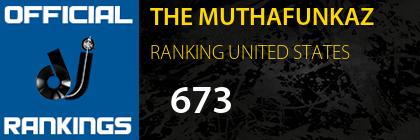 THE MUTHAFUNKAZ RANKING UNITED STATES