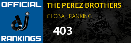 THE PEREZ BROTHERS GLOBAL RANKING