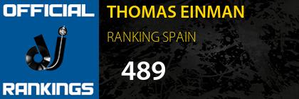 THOMAS EINMAN RANKING SPAIN