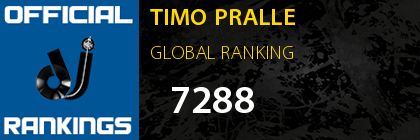 TIMO PRALLE GLOBAL RANKING
