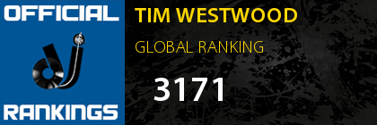 TIM WESTWOOD GLOBAL RANKING